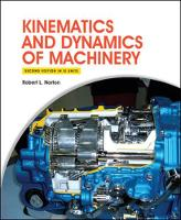 Kinematics and Dynamics of Machinery 2e (in SI Units) (Paperback)