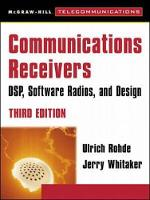 Communications Receivers: DPS, Software Radios, and Design, 3rd Edition (Book)