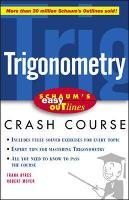 Schaum's Easy Outline of Trigonometry (Paperback)