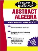 Schaum's Outline of Abstract Algebra (Paperback)
