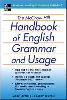 The McGraw-Hill Handbook of English Grammar and Usage (Paperback)