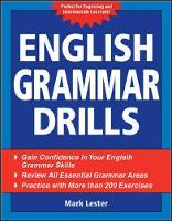 English Grammar Drills (Paperback)