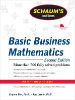 Schaum's Outline of Basic Business Mathematics, 2ed (Paperback)