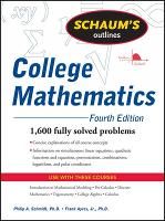 Schaum's Outline of College Mathematics, Fourth Edition (Paperback)