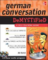 German Conversation Demystified with Two Audio CDs - Demystified (Book)
