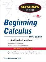 Schaum's Outline of Beginning Calculus, Third Edition (Paperback)