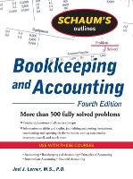Schaum's Outline of Bookkeeping and Accounting, Fourth Edition (Paperback)