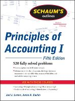 Schaum's Outline of Principles of Accounting I, Fifth Edition (Paperback)