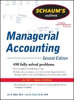 Schaum's Outline of Managerial Accounting (Paperback)