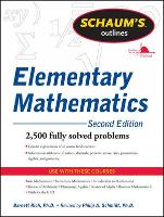Schaum's Outline of Review of Elementary Mathematics (Paperback)