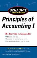 SCHAUM'S EASY OUTLINE OF PRINCIPLES OF ACCOUNTING (Paperback)