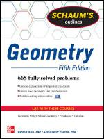 Schaum's Outline of Geometry: 665 Solved Problems + 25 Videos (Paperback)
