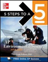 5 Steps to a 5 AP Environmental Science 2014-2015 - 5 Steps to a 5 on the Advanced Placement Examinations (Paperback)