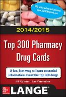 2014-2015 Top 300 Pharmacy Drug Cards (Paperback)