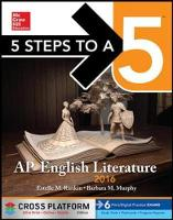 5 Steps to a 5 AP English Literature 2016 (Paperback)
