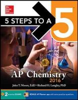 5 Steps to a 5 AP Chemistry 2016 - 5 Steps to a 5 on the Advanced Placement Examinations (Paperback)