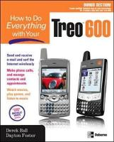 How to Do Everything with Your Treo 600 - How to Do Everything (Paperback)
