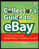 The Collector's Guide to eBay (Paperback)