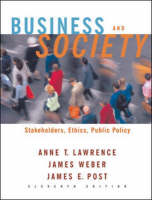 Business and Society: Stakeholders, Ethics, Public Policy W/P.Web (Hardback)