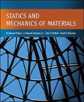 Statics and Mechanics of Materials (Hardback)