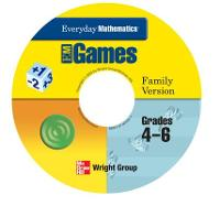 Everyday Mathematics, Grades 4-6, Early Childhood CD Family Games Package - EVERYDAY MATH ONLINE GAMES (CD-ROM)