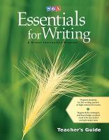 SRA Essentials for Writing Teacher's Guide - EXPRESSIVE WRITING (Paperback)