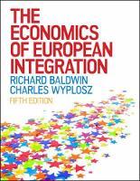 The Economics of European Integration (Paperback)