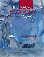 The Macro Economy Today (Paperback)