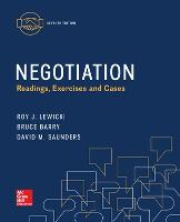 Negotiation: Readings, Exercises, and Cases (Paperback)