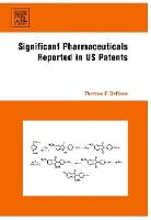 Significant Pharmaceuticals Reported in US Patents (Hardback)