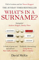 What's in a Surname?: A Journey from Abercrombie to Zwicker (Paperback)