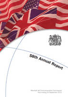 Fifty eighth annual report of the Marshall Aid Commemoration Commission for the year ending 30 September 2011 (Paperback)