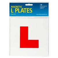 The official DVSA magnetic L plates