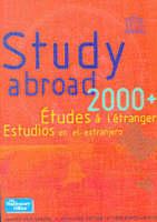 Study Abroad 2000-2001 (Paperback)
