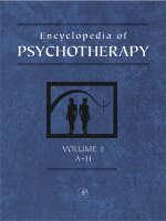 Encyclopedia of Psychotherapy: v. 1-2