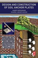 Design and Construction of Soil Anchor Plates (Paperback)