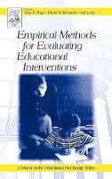 Empirical Methods for Evaluating Educational Interventions - Educational Psychology (Hardback)