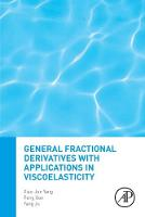 General Fractional Derivatives with Applications in Viscoelasticity (Paperback)