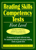 Ready-to-Use Reading Skills Competency Tests: First Grade Reading Level, Vol. 2 (Spiral bound)