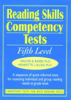 Ready-to-Use Reading Skills Competency Tests: Fifth Grade Reading Level, Vol. 6 (Spiral bound)