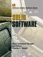 Solid Software (Paperback)