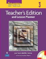 Top Notch 3 with Super CD-ROM Teacher's Edition with Daily Lesson Plans and Disk (Paperback)