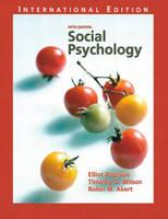 Social Psychology: International Edition (Paperback)