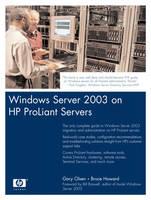 Windows Server 2003 on HP ProLiant Servers (Paperback)