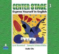 Center Stage 3 Audio CDs (CD-Audio)