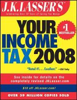 J.K. Lasser's Your Income Tax 2008 (Paperback)