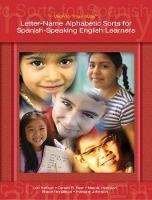 Words Their Way: Letter-Name Alphabetic Sorts for Spanish-Speaking English Learners (Paperback)