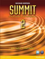 Summit 2 with Active Book & MyEnglishLab (Paperback)