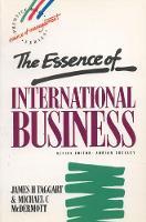 Essence International Business (Paperback)