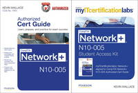 CompTIA Network+ N10-005 Cert Guide with MyITcertificationLab Bundle